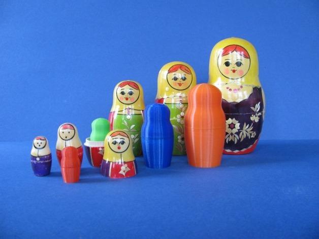 俄罗斯套娃模型 3D模型  图15
