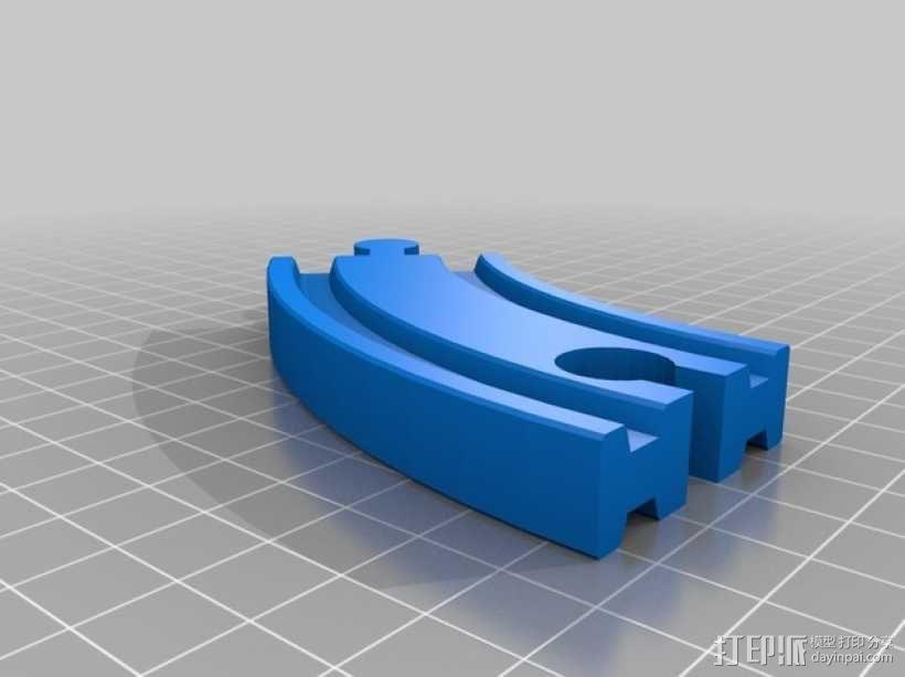 Brio玩具火车车轨模型 3D模型  图2