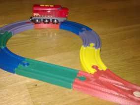 Brio玩具火车车轨模型 3D模型