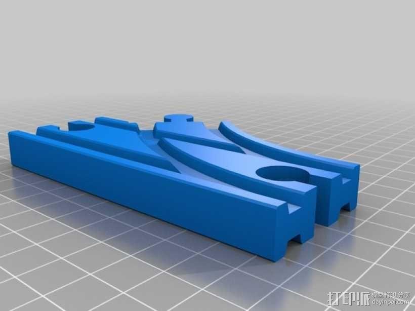 Brio玩具火车车轨模型 3D模型  图4