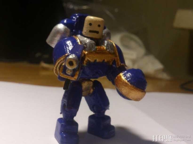 迷你星际战士模型 3D模型  图14