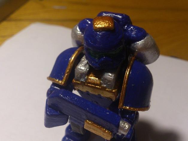 迷你星际战士模型 3D模型  图13