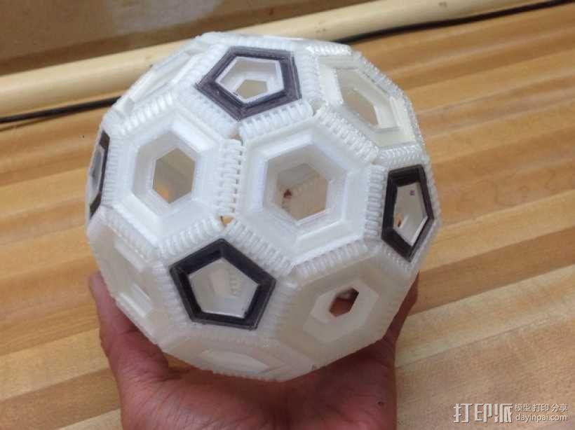 联锁足球套件 3D模型  图1