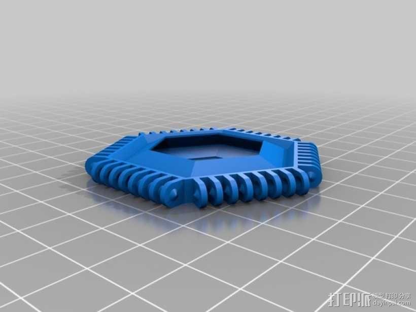 联锁足球套件 3D模型  图6
