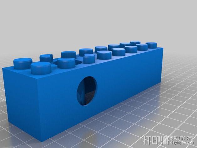 得宝滚珠抽运装置 3D模型  图4