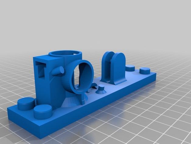 得宝滚珠抽运装置 3D模型  图2