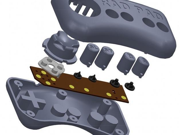 USB总控制器模型 3D模型  图4