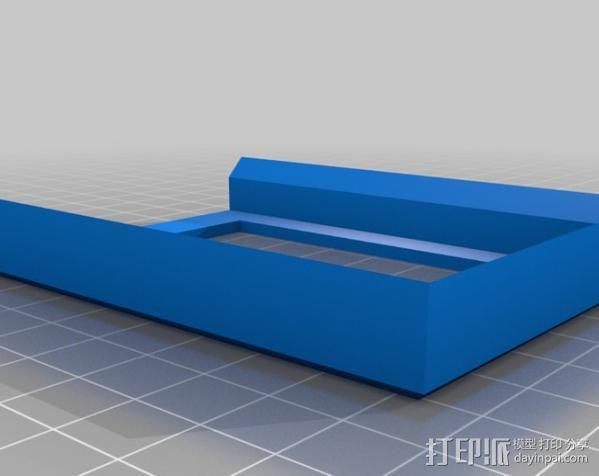 游戏卡卡盒模型 3D模型  图1