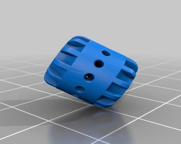 可打印的大脑齿轮模型 3D模型  图3