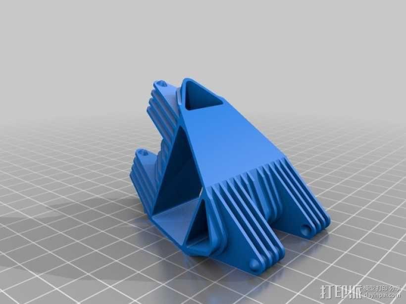 四面体选转环模型 3D模型  图2