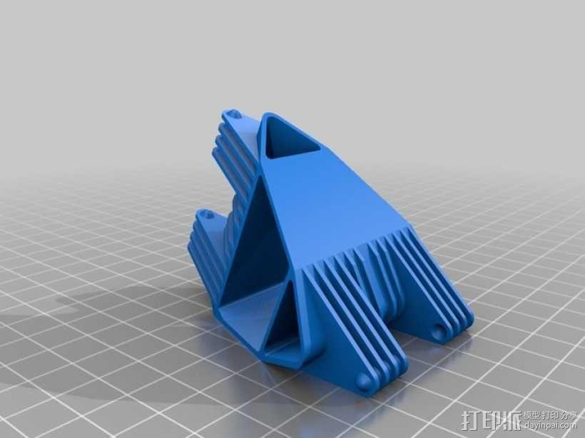 四面体选转环模型 3D模型  图3