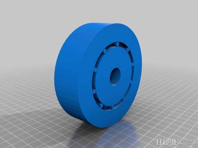 3D打印的滚珠承轴模型 3D模型  图1