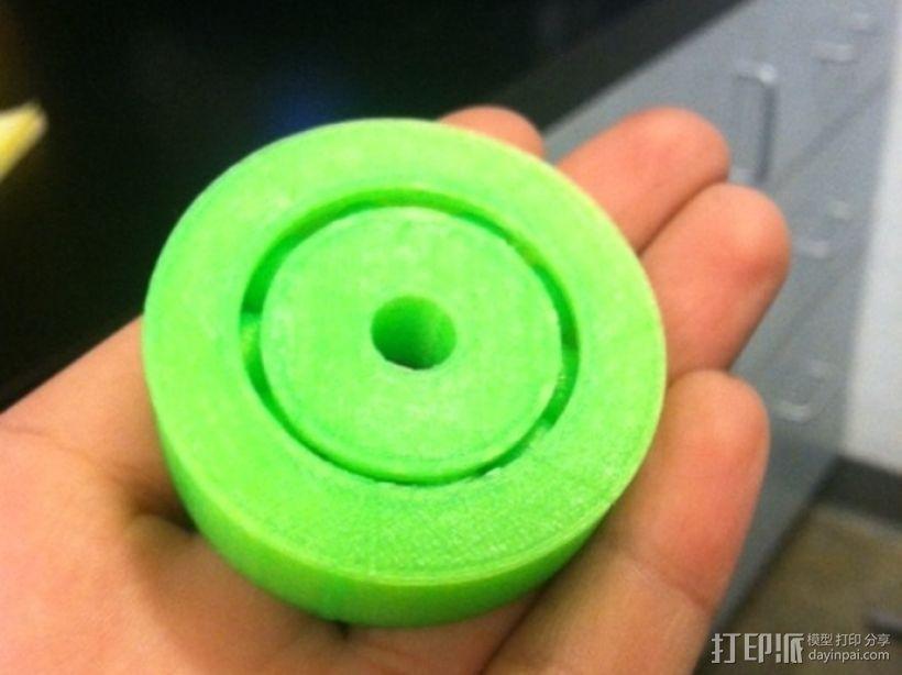 3D打印的滚珠承轴模型 3D模型  图2