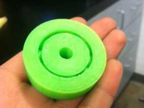 3D打印的滚珠承轴模型 3D模型