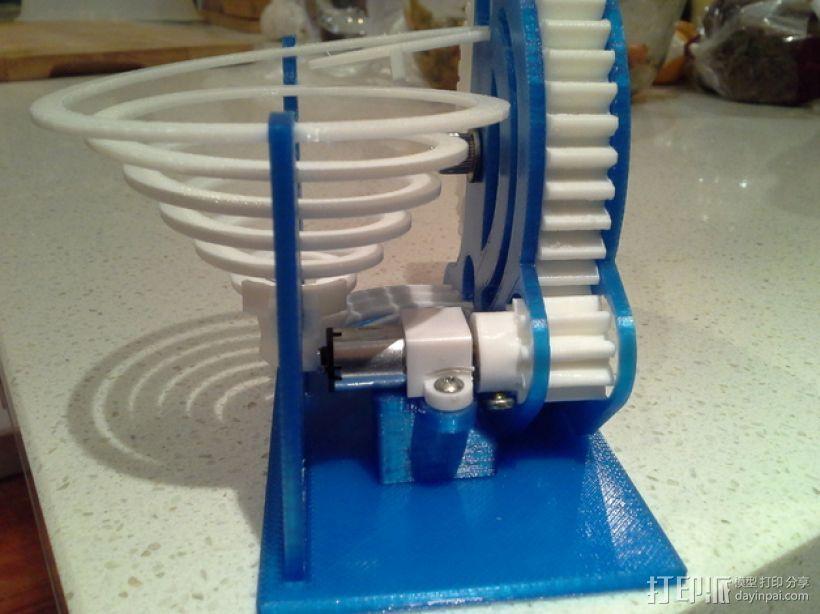 机动化联动装置额外配置 3D模型  图1