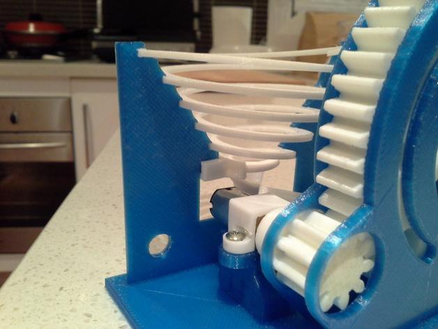 机动化联动装置额外配置 3D模型  图4