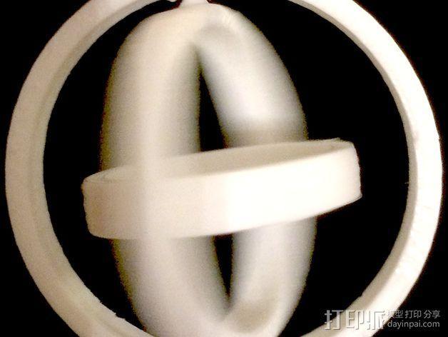 参数化平衡环模型 3D模型  图5
