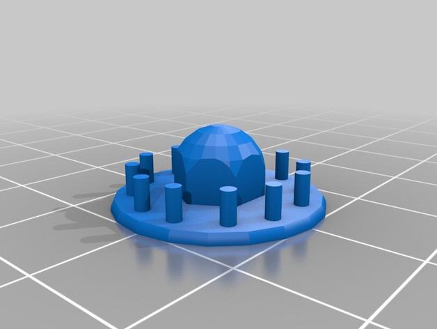 旋涡状迷你魔法棒 3D模型  图4