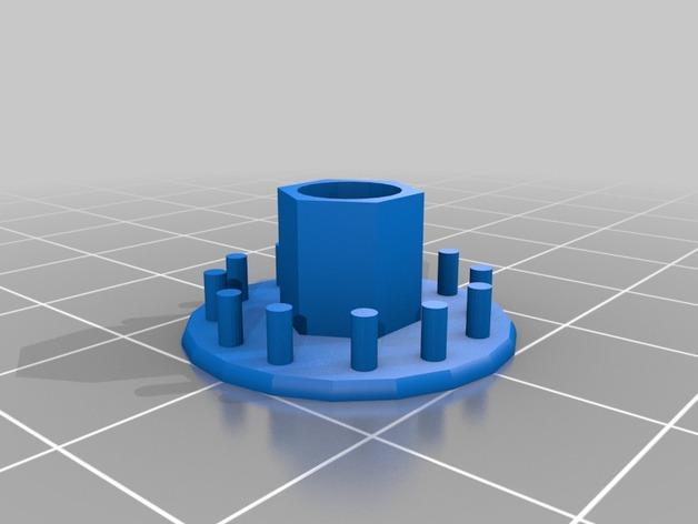 旋涡状迷你魔法棒 3D模型  图5