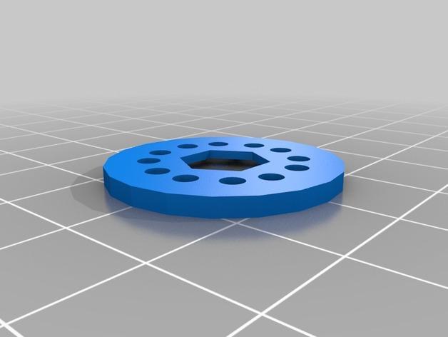 旋涡状迷你魔法棒 3D模型  图6