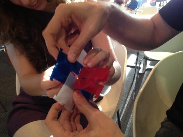 灵活的鲁班锁Cuburr 3D模型  图3
