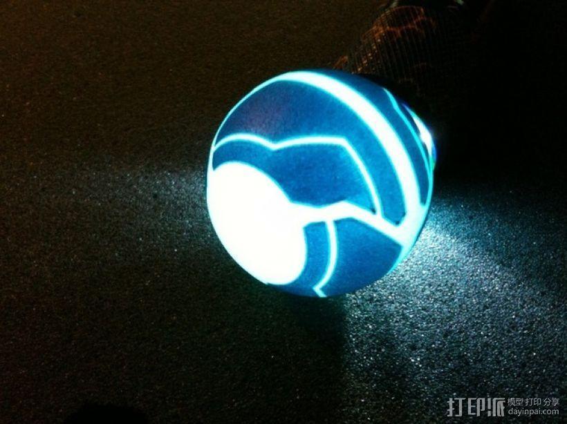 迷你变形球模型 3D模型  图1