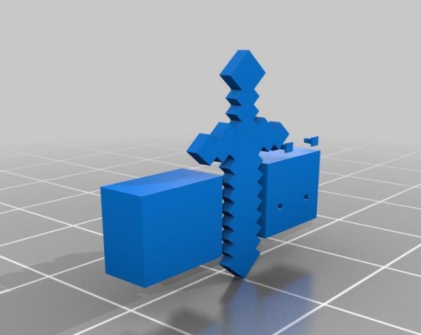 将死的爬行者模型 3D模型  图1