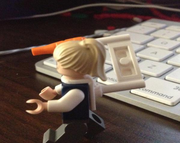 乐高玩具背部配适器模型 3D模型  图4