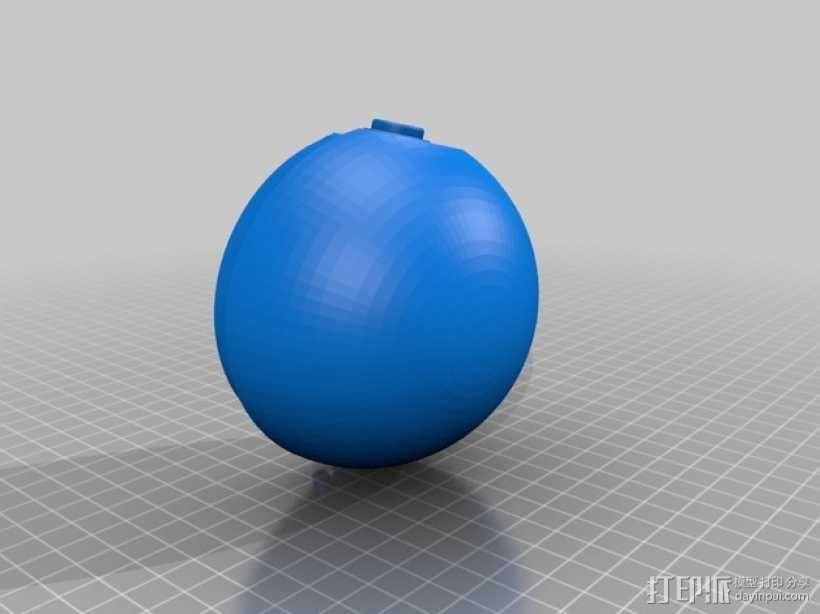 迷你神奇宝贝球 3D模型  图2