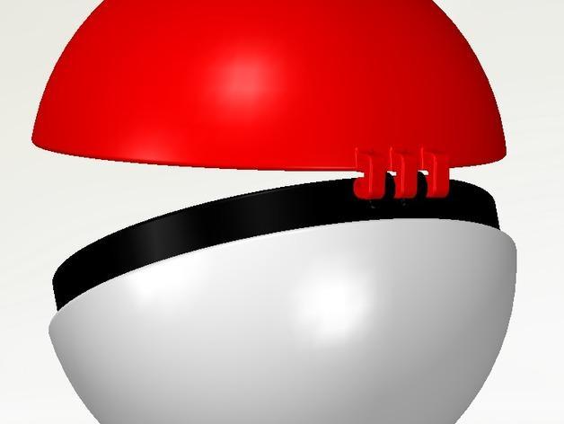 迷你神奇宝贝球 3D模型  图4