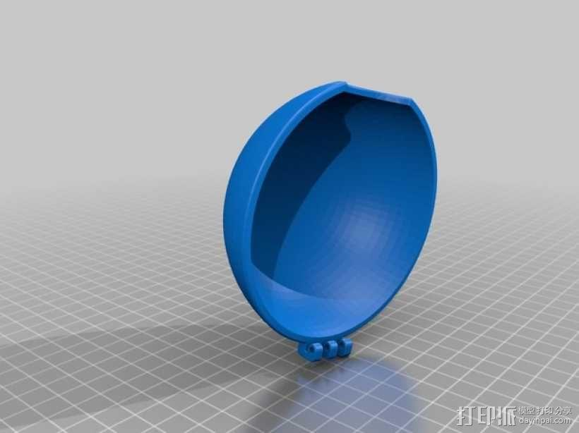 迷你神奇宝贝球 3D模型  图3