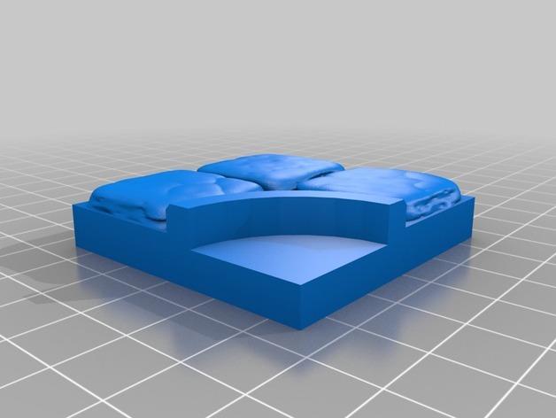 OpenForge迷你水池模型 3D模型  图7