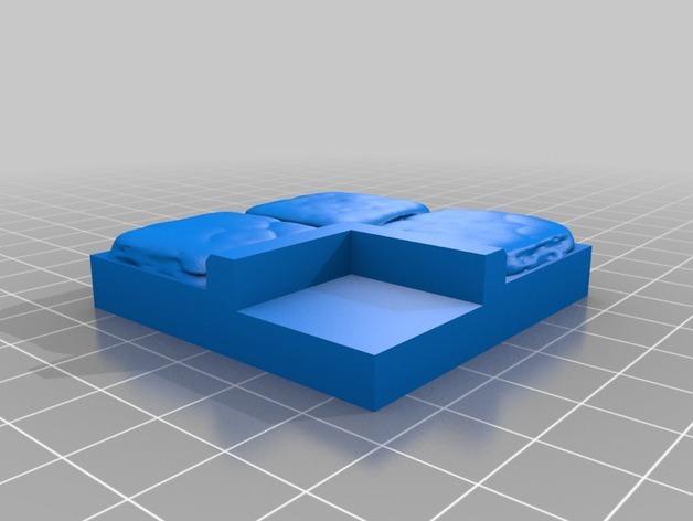 OpenForge迷你水池模型 3D模型  图11