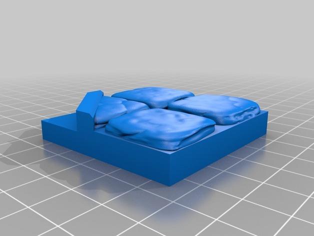 OpenForge迷你水池模型 3D模型  图16