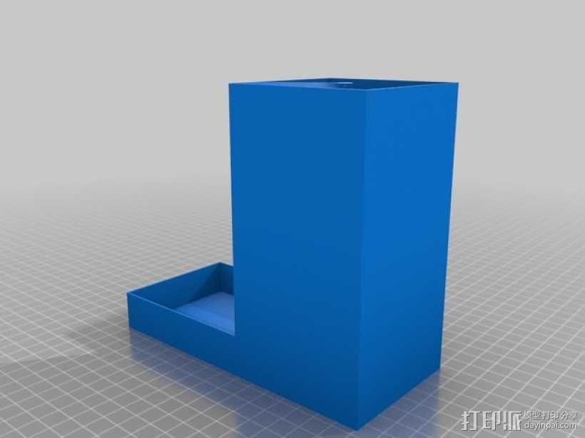 螺旋骰子塔模型 3D模型  图2