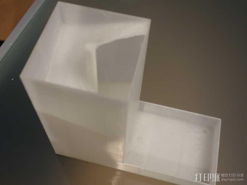 螺旋骰子塔模型 3D模型  图4