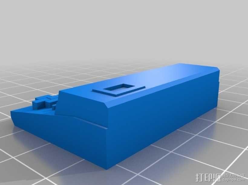 MZ-821迷你电脑 3D模型  图1