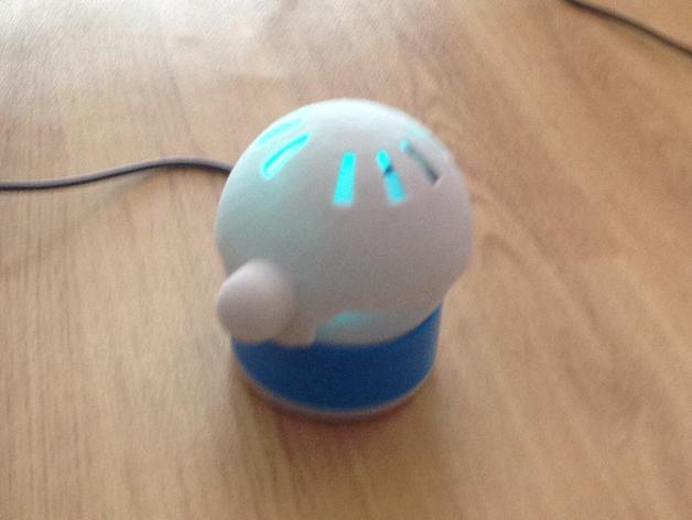 智能小球磁力复原装置make5000 3D模型  图1