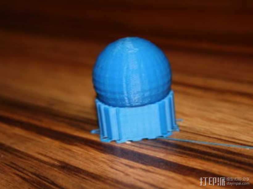 翻身陀螺模型 3D模型  图2