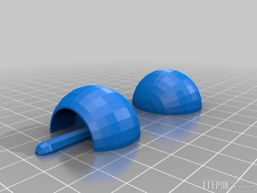 翻身陀螺模型 3D模型  图5
