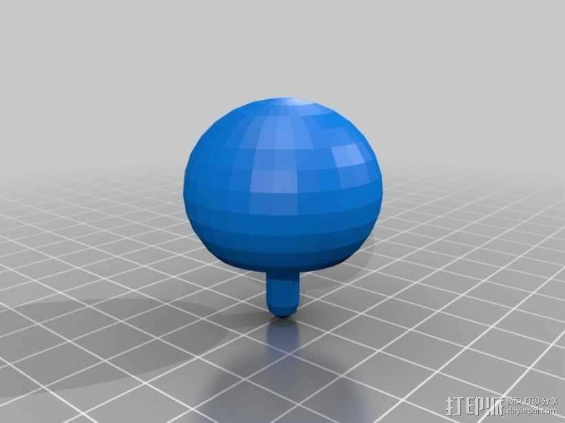 翻身陀螺模型 3D模型  图4