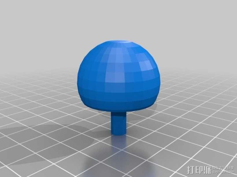 翻身陀螺模型 3D模型  图7