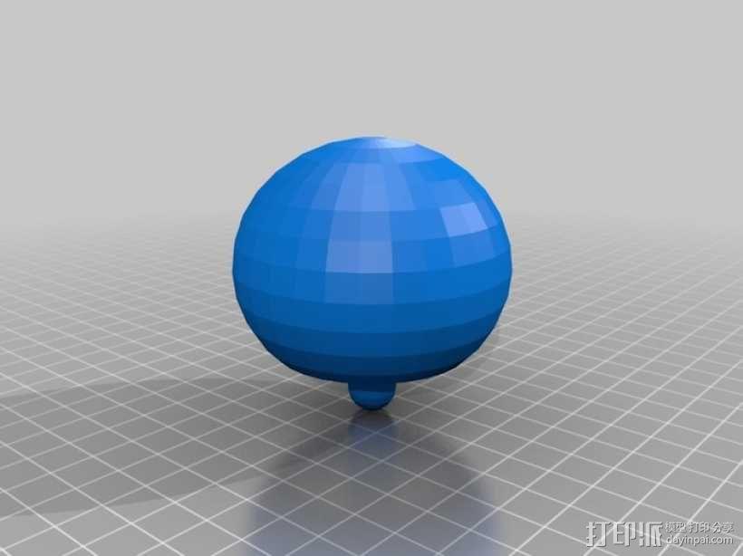 翻身陀螺模型 3D模型  图9