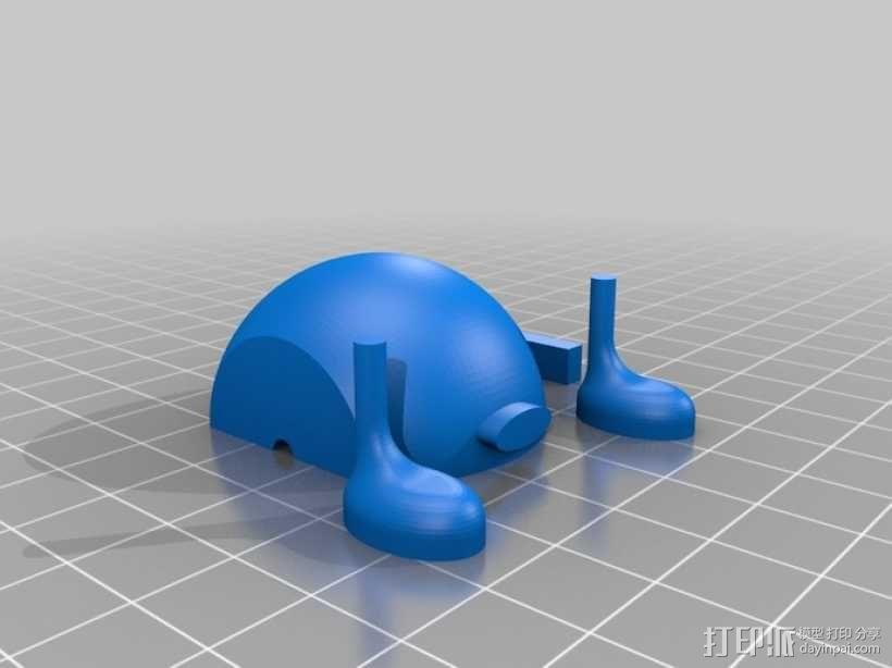 超级玛丽:Bobomb炸弹 3D模型  图2