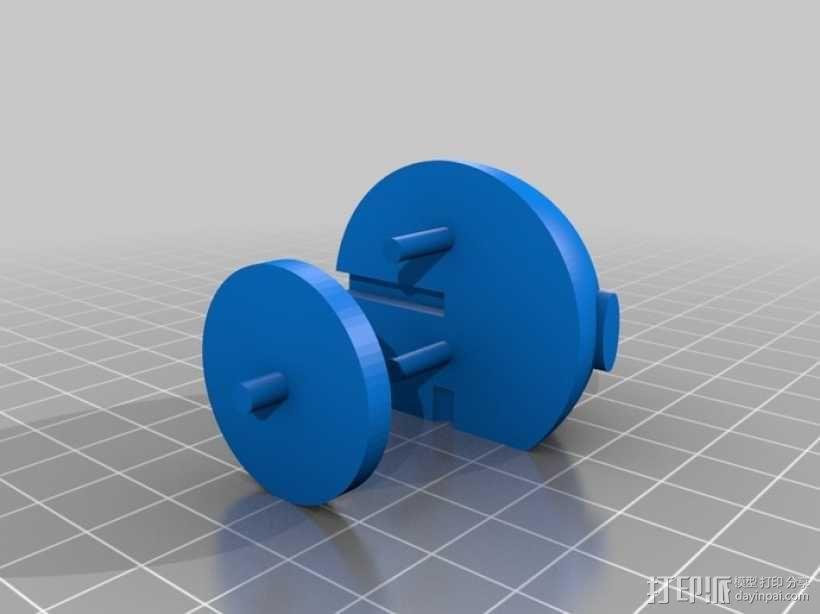 超级玛丽:Bobomb炸弹 3D模型  图3