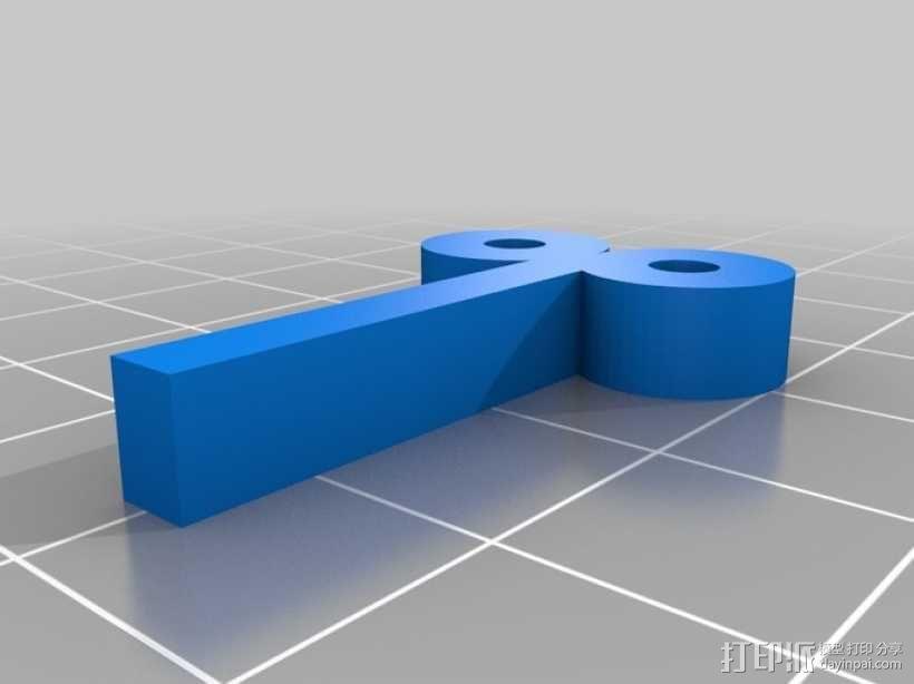 超级玛丽:Bobomb炸弹 3D模型  图4