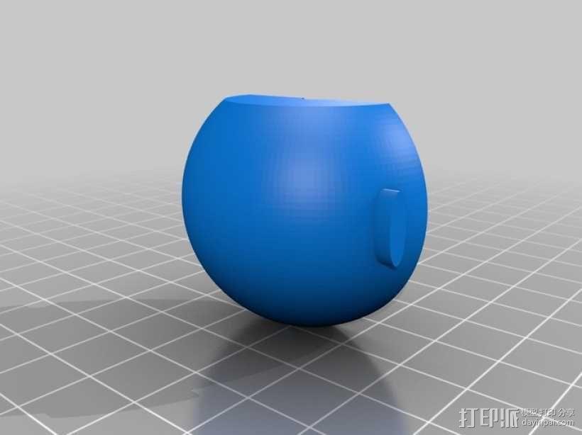 超级玛丽:Bobomb炸弹 3D模型  图5
