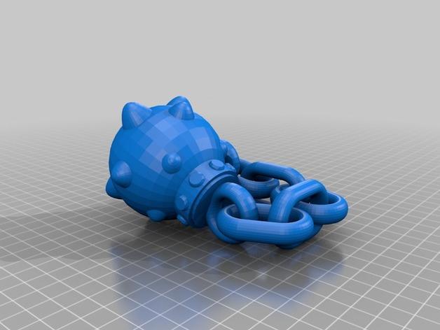 连枷玩具 3D模型  图2