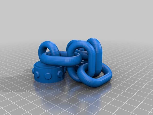 连枷玩具 3D模型  图3