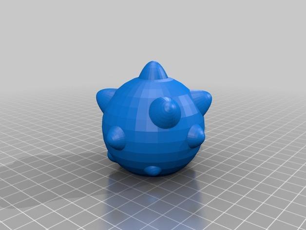 连枷玩具 3D模型  图4